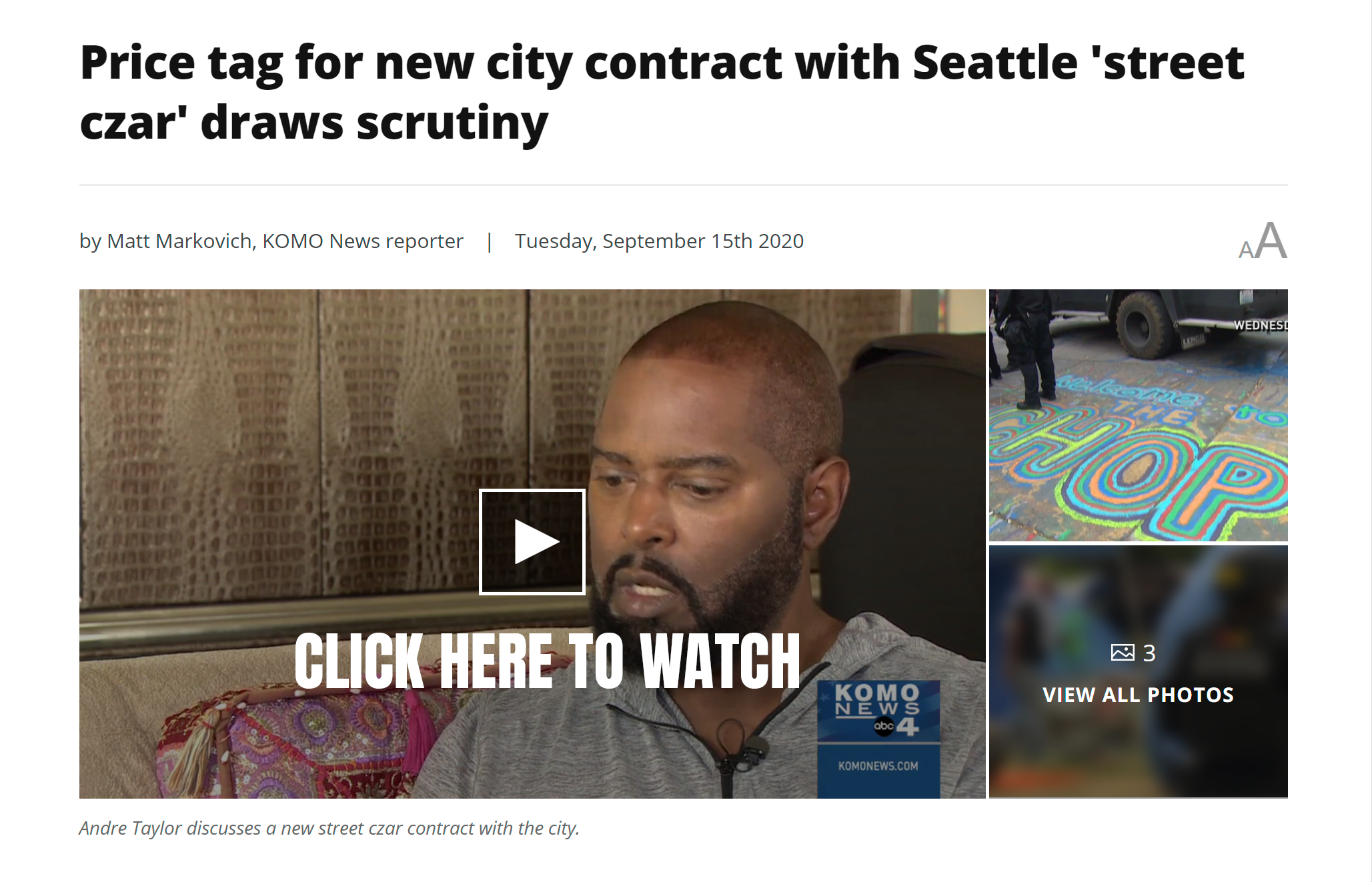 Komo News Click Here to Watch